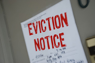 How long does an eviction action take in Scotland?