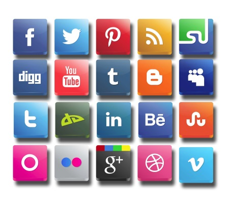 What are the risks when recruiting via social media?