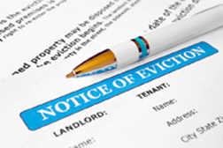 Eviction after bankruptcy or signing a trust deed - Scotland