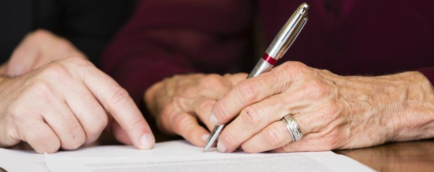What is an executor in a Will?
