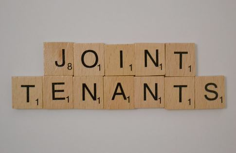 What happens when a joint tenant leaves a property?