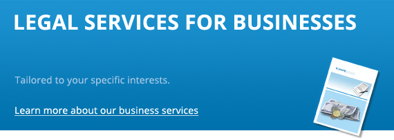 Legal services for businesses
